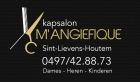 Logo Kapsalon M'angiefique
