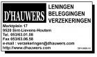 Logo D'Hauwers verzekeringen