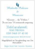Logo Medische Pedicure - Manicure Griet